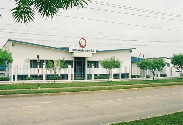 Nhà máy AMANDA FOOD, Khu Công Nghiệp AMATA, Biên Hòa.
