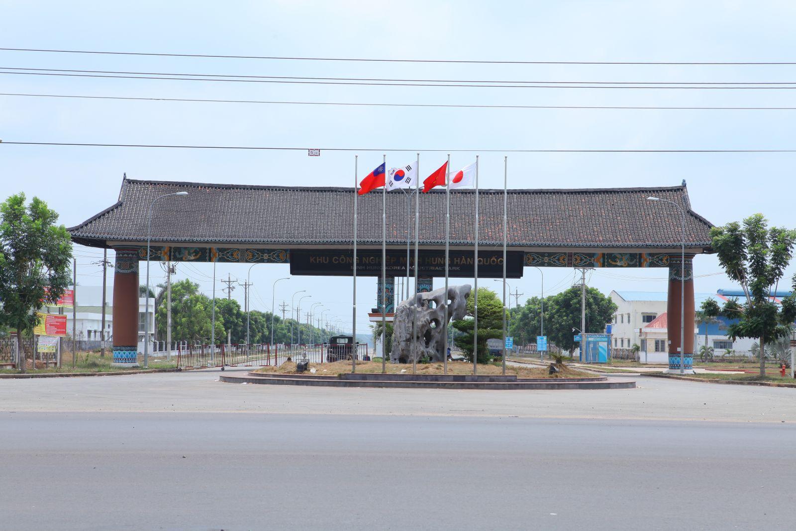 Khu công nghiệp Minh Hưng - Hàn Quốc