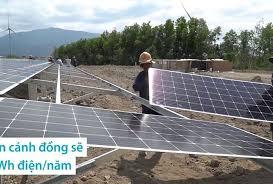 Cánh đồng điện mặt trời lớn nhất Việt Nam sắp hoạt động